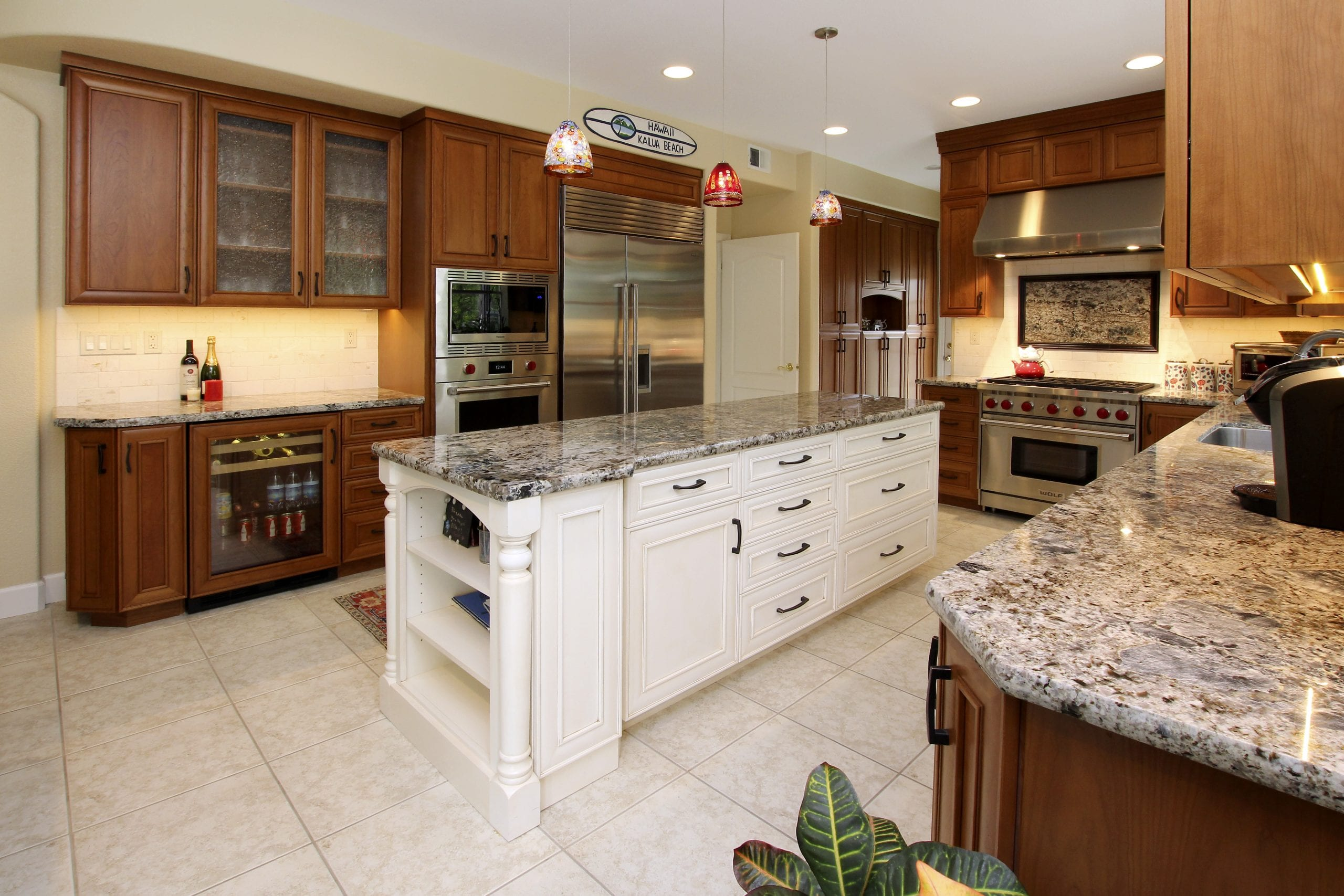 Epicurean kitchen remodel after photo