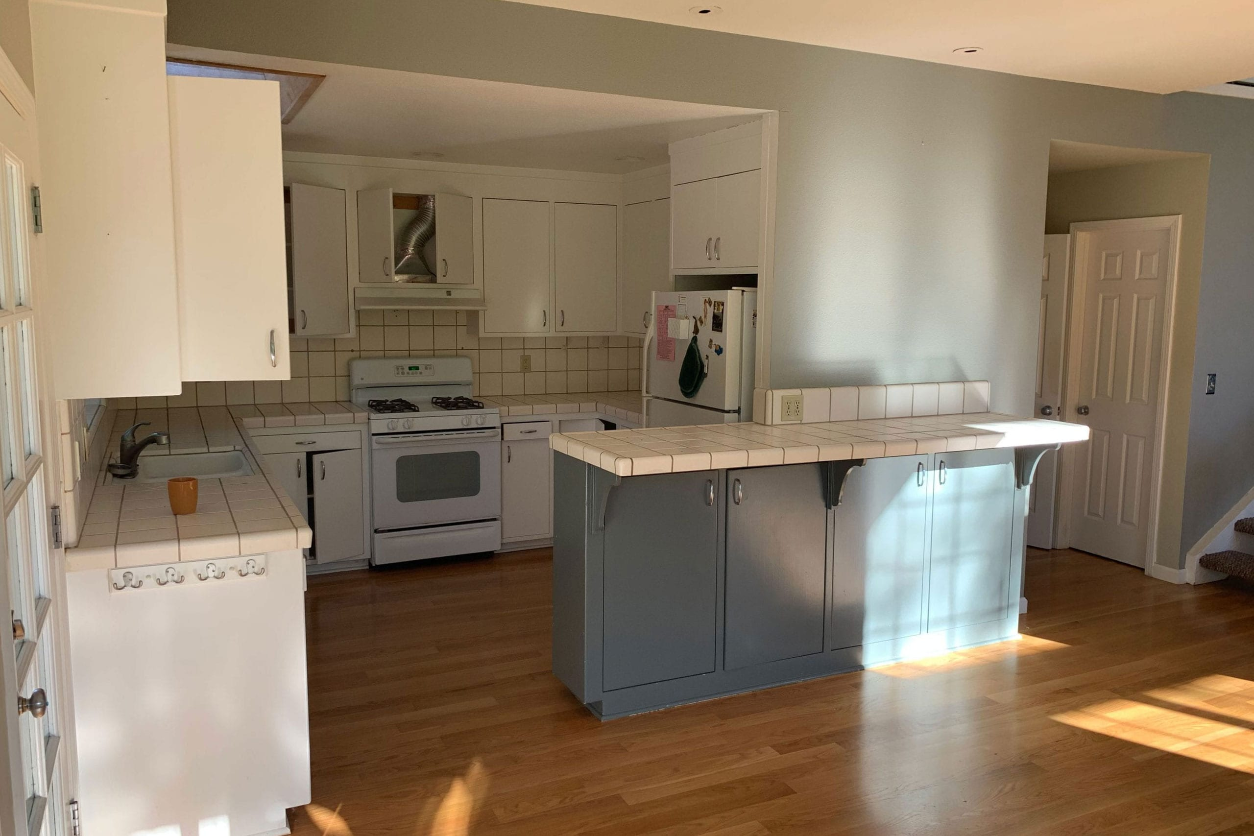 From house to home kitchen remodel before
