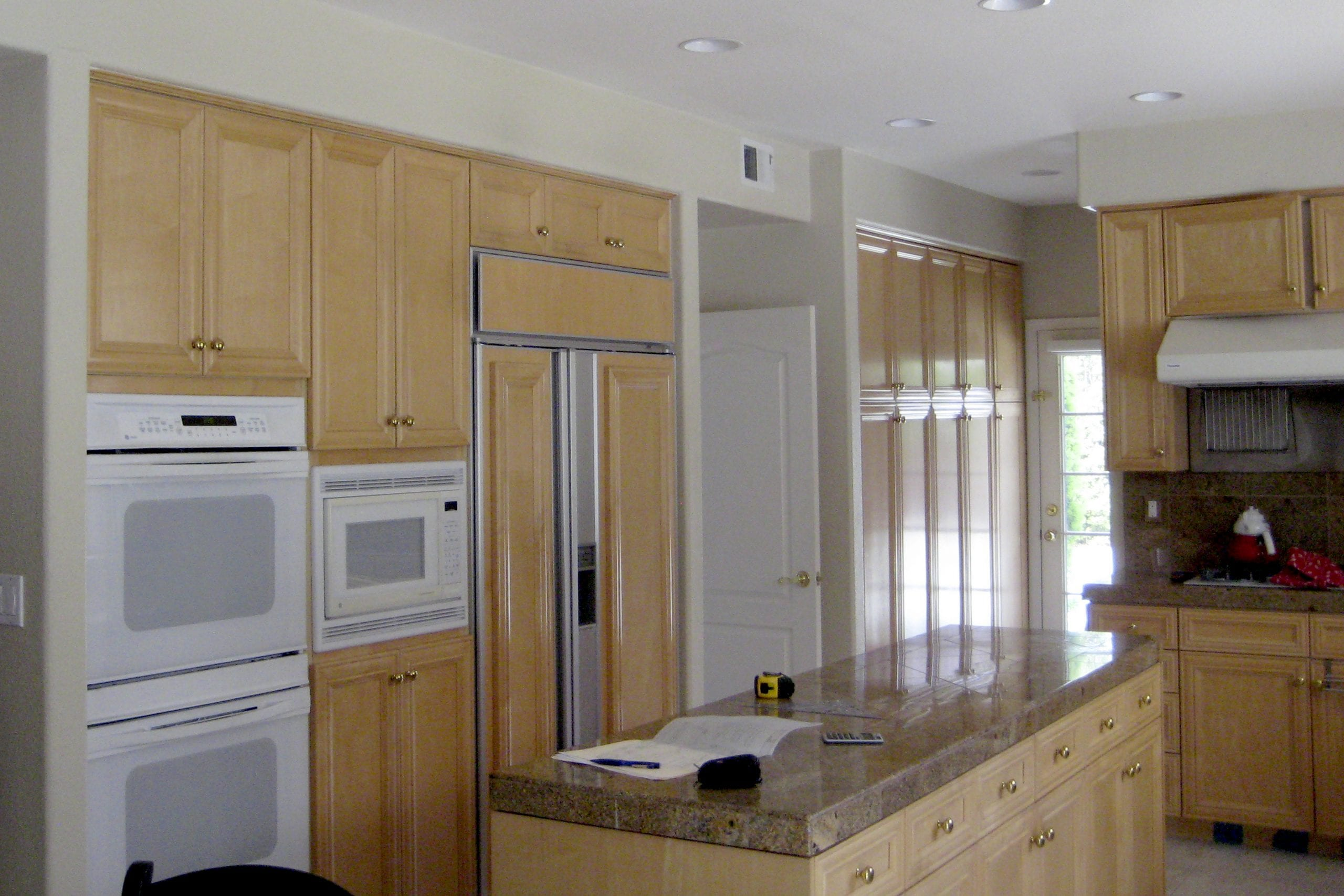 Epicurean kitchen remodel before photo