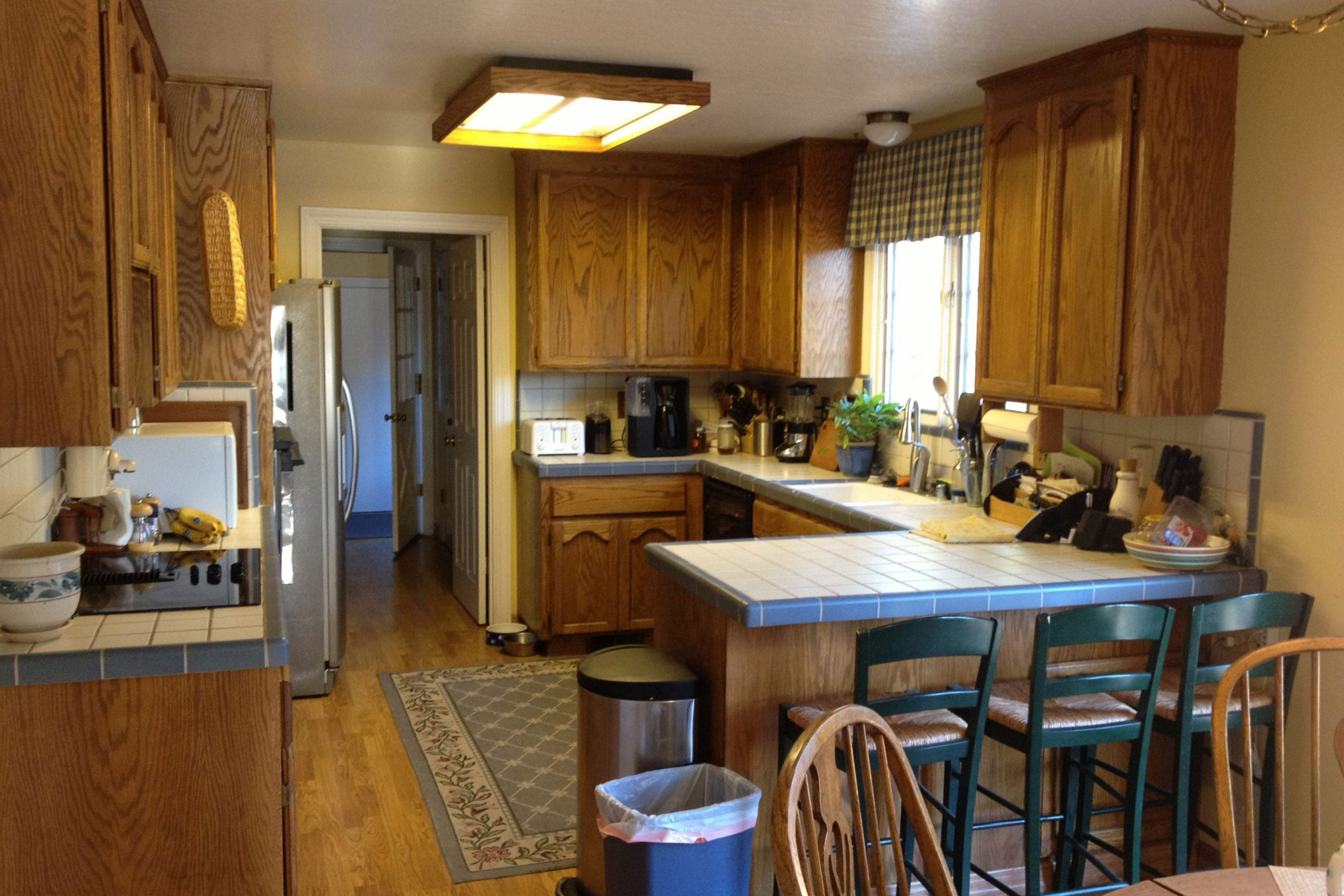 Before picture for Scotts Valley kitchen remodel